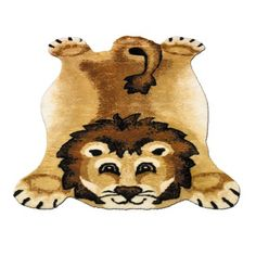these jungle themed animal rugs are so adorable! perfect for childrens room or baby nursery with jungle theme! I want for my future baby/kid!
