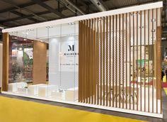 View the full picture gallery of Exhibition Stand - Caseificio Maldera Exhibition Stall Design, Exhibition Stands, Exhibit Design, Web Banner Design, Ads Creative, Print Advertising, Advertising Campaign, Print Ads, Retail Design