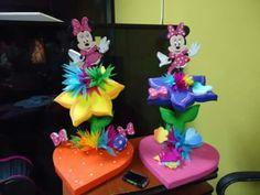 figuras en anime 3d para decoración y fiestas infantiles