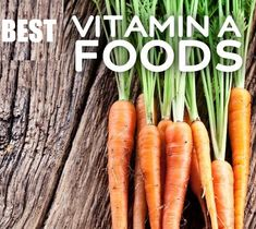 Vitamin A is a fat-soluble vitamin and it is important for many processes in your organism, so eating foods high in vitamin A is essential for your overall health.