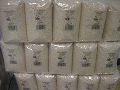 Ya han llegado los nuevos saquitos de 1Kg de arroz Bomba y arroz Redondo, en nuevo formato de plástico y más económicos!!!!!