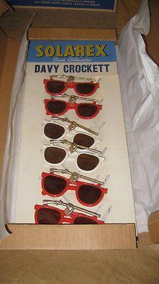 Vintage Deadstock Davy Crockett Sunglasses