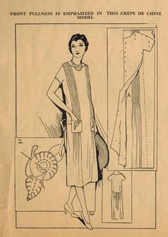 Home Sewing Tips from the 1920s - Using Tucks to Add Chic to...   The Midvale Cottage Post   Bloglovin'