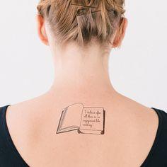 Pride and Prejudice | 21 Literary Temporary Tattoos Every Book Lover Needs