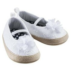 Just One You™Made by Carter's® Infant Girls' Eyelet Espadrille White 1