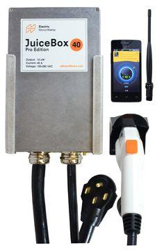 JuiceBox Pro 40 Amp / 10kW Electric Vehicle Charging Station