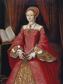Elisabetta I Tudor, Gran Bretagna 1533 – 1603, regina d'Inghilterra e d'Irlanda . Chiamata anche la Regina Vergine, Gloriana o la buona regina,  fu la quinta ed ultima monarca della dinastia Tudor. Il suo regno fu lungo e segnato da molti avvenimenti importanti, furono poste le basi della futura potenza commerciale e marittima ed iniziò la colonizzazione dell'America settentrionale. La sua epoca, denominata età elisabettiana, fu anche un periodo di straordinaria fioritura artistica e…