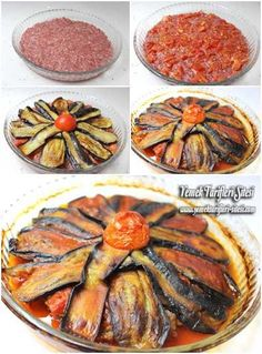 Patlıcanlı Tepsi Kebabı Tarifi - Et Yemekleri - Las recetas más prácticas y fáciles Eggplant Dishes, Eggplant Recipes, Lebanese Recipes, Turkish Recipes, Cetogenic Diet, Kebab Recipes, Food Articles, Middle Eastern Recipes, Everyday Food
