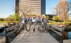 Darron & his groomsmen - Chicago Wedding 2014