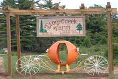 Pumpkin Harvest Festival! September - October StonyCreek Farm Noblesville, Indiana