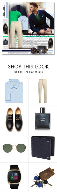 """""""SHARP DRESSER"""" by angelflair ❤ liked on Polyvore featuring Giorgio Armani, Burberry, Calvin Klein Collection, Chanel, Rocio, Ray-Ban, Valentino, iTouch, CO and men's fashion"""