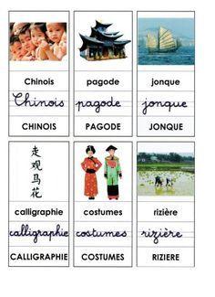 LA CHINE lexique, page 1
