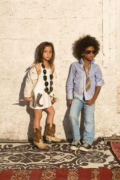 Hippie kids