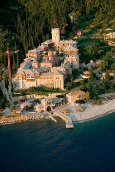 """religious tourism in Halkidiki, Greece Agion Oros, """"Sacred Mountain"""" in Greece home of most famous monasteries in Greece, open only for men"""