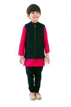 Buy kids clothing online from our latest collection of kids kurta pajama for kids. We offer kids sherwani and kids wear for girls & boys at really in your budget in India, USA & Singapore.