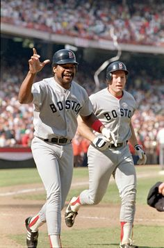Dave Henderson and Rich German, Boston Red Sox