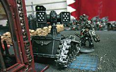 Count As Thunderfire Cannon, Death Watch By Unkown http://www.dakkadakka.com/gallery/429957-.html#