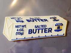 Stick of BUTTER Patch