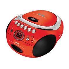 Naxa Portable Boombox Player CD/AM/FM Radio