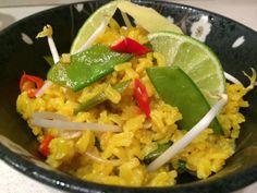 #kaopad #verdure #riso #fritto #thaifood #veganfood
