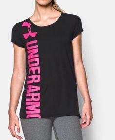 Women's UA Vertical Logo T-Shirt