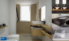 Vetro, corian, legno, quarzo, … molti i materiali tra cui scegliere il top per il mobile lavabo. Ecco qualche consiglio tratto dai nostri progetti!