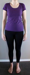 Real Life Body Shapes – 8. Kort mellan midja och höfter. Hon har tyngden högre upp än X-formen som har längre mellan midja och höfterna sitter lågt.