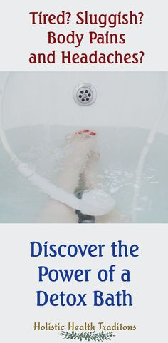 Combat the blahs with a detox bath to rejuvenate and renew your well being. Helps relieve pain and recurring headache with just two ingredients. Pamper yourself today! Detox Bath For Colds, Bath Detox, Bath Recipes, Detox Recipes, Bentonite Clay Detox Bath, Detox Bath Benefits, Essential Oils Detox, Detox Bath Recipe, How To Relieve Headaches