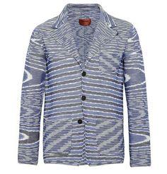 Missoni Striped Cotton-Blend Blazer | MR PORTER