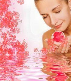 Badezusätze - Rezept zum selber machen für Badekugeln mit Rosenduft