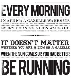 Powerful motivational 'running' quote by Maurice Greene