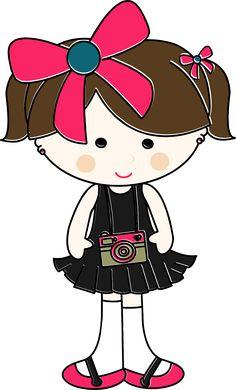 Um blog sobre design gráfico,desenhos de bonecas digitais.