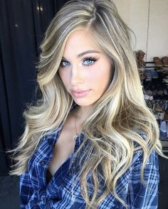 Lights - Blonde hair