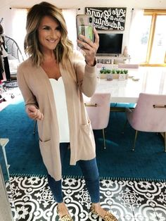 cd73a2324e Shop the Look from Living in Yellow on ShopStyle. The perfect camel cardigan  ...