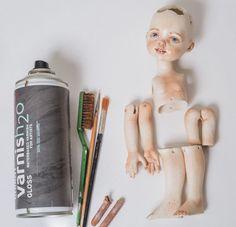 Создаем куклу в смешанной технике - Ярмарка Мастеров - ручная работа, handmade