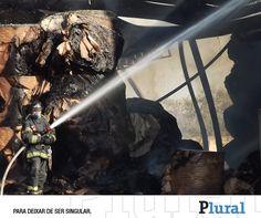 Incêndio em fábrica de papelão provoca chuva de cinzas em Poá - Leia em: http://fb.com/jornalpluralsp -  Jornal Plural (@JornalPluralpoa) | Twitter