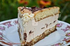 Tort cu piscoturi si ness - CAIETUL CU RETETE Romanian Desserts, Cake Recipes, Dessert Recipes, Something Sweet, No Bake Cake, Vanilla Cake, Cheesecake, Caramel, Food And Drink
