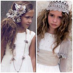 ¿cómo vestir a la niña en su primera comunión? Hoy hablamos de looks para comuniones originales, para vestir a tu hija de forma sencilla, cómoda y elegante