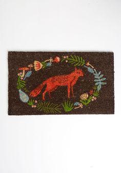 A Woodland Welcome Doormat