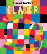 Elmer by David McKee. David McKee's first book about Elmer turned this adorable patchwork elephant into a nursery favourite. Deservedly a modern classic. Elmer's subtle message, that it is ok to be different, resonates with children across the world. Elmer The Elephants, Numeracy Activities, Library Books, Learn To Read, Paperback Books, Audio Books, Childrens Books, Good Books, David