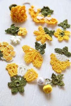 oya crochet motif non ci sono schemi, si possono dedurre