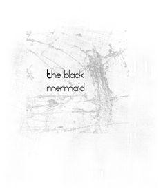 The black mermaid by daiana-hamza on Polyvore featuring art
