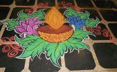 Free Hand Rangoli Designs and Patterns
