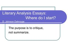 This expertise essay is for a VERY important grade. PLEASE help me by critiquing it! :)?