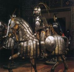 Complete Warrior armor for elite Ottoman Sipahi (cavalry).