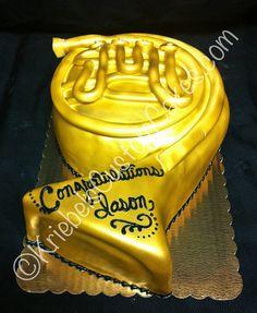 french horn cake ideas - :o 16 Birthday Cake, 16th Birthday, Birthday Ideas, Music Note Cake, French Horn, Novelty Cakes, Fancy Cakes, Edible Art, Cake Art