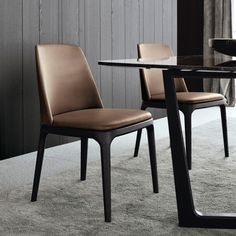 modern wooden dining chairs - Google Search