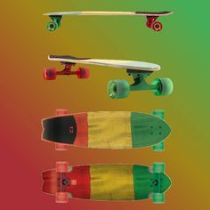 The x Rasta Chromantic. A rad cruiser geared for carving good times & with its rubber grip on the tail you'll have max control when skating barefoot. Now available in-store & via x Skating, Barefoot, Carving, Times, Store, Instagram Posts, Shopping, Joinery, Tent
