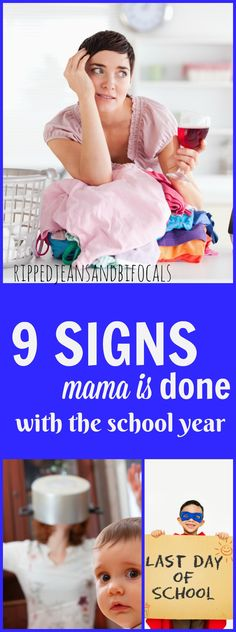 Are you D-O-N-E with this school year? So am I!  |school|end of school year ideas|last day of school ideas|funny moms|mom blogs|real moms|teacher ideas|