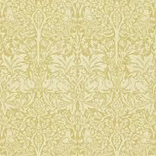 Shop for William Morris Brer Rabbit Wallpaper Manilla at Tallantyre Interiors. Great range of quality products online or in our Morpeth and Bedlington shops. William Morris Wallpaper, Morris Wallpapers, Rabbits For Sale, Rabbit Wallpaper, Rabbit Book, Shades Of Gold, Wall Murals, Arts And Crafts, Prints